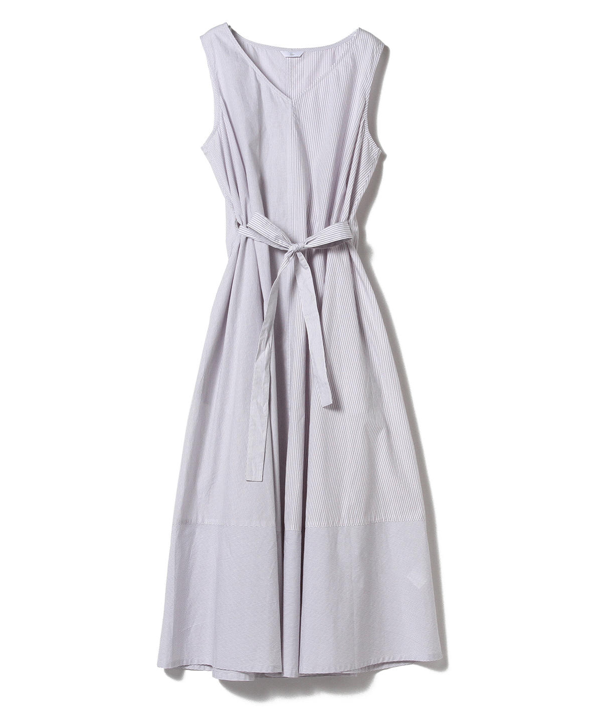 LYNNE Cotton Tie Dress