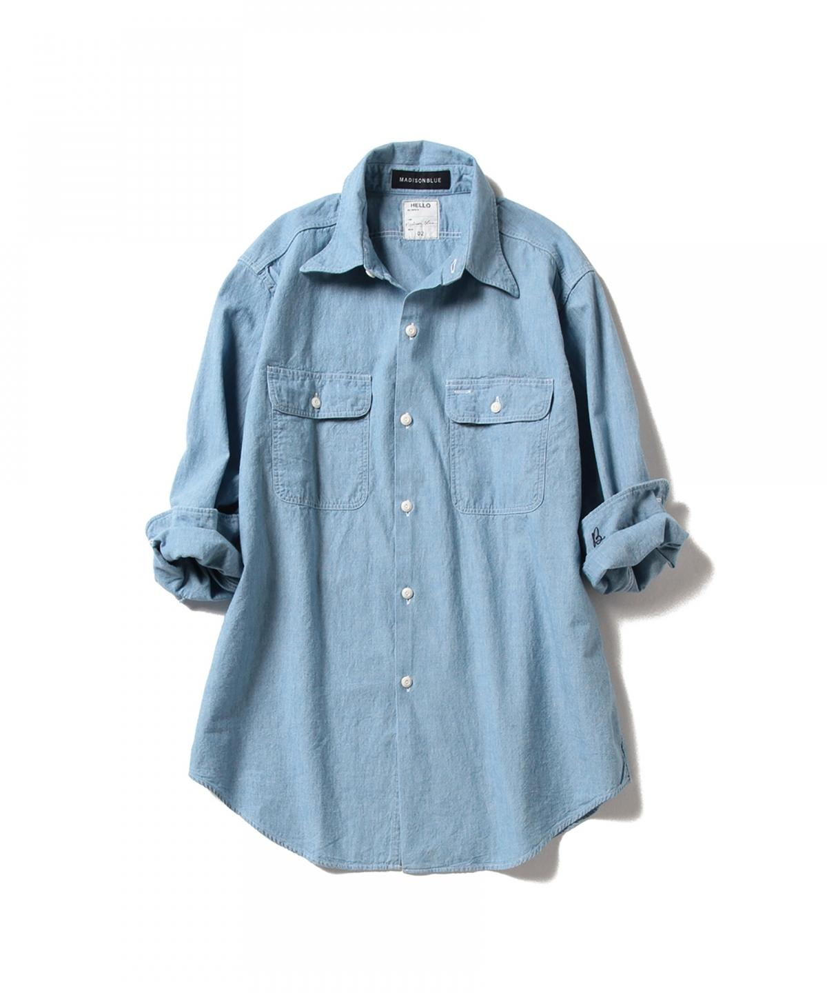 HAMPTON Chambray Shirt Vaio Wash