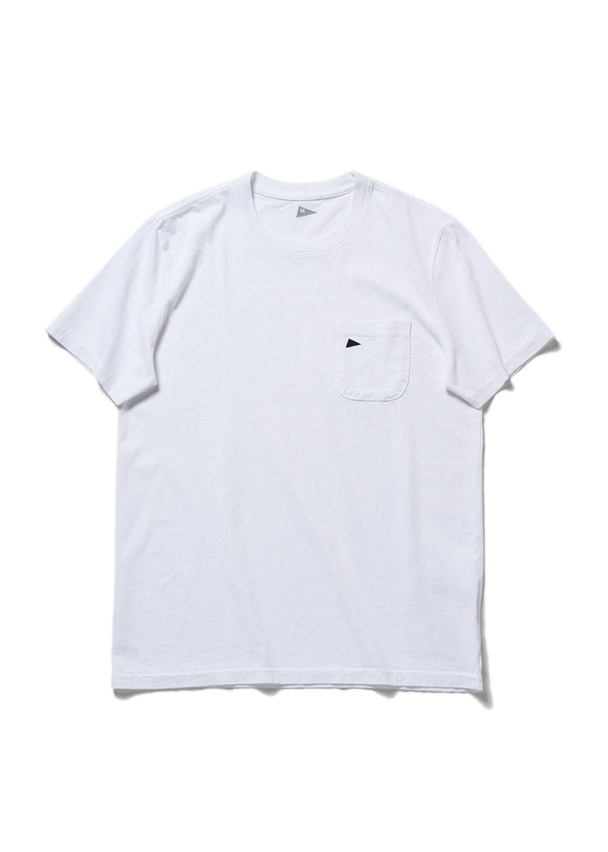 Pennant Pocket T (BRIGHT WHITE)