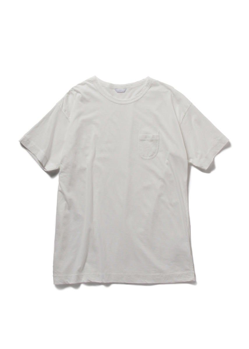 Drop Sholder Solid T Shirt (WHITE)