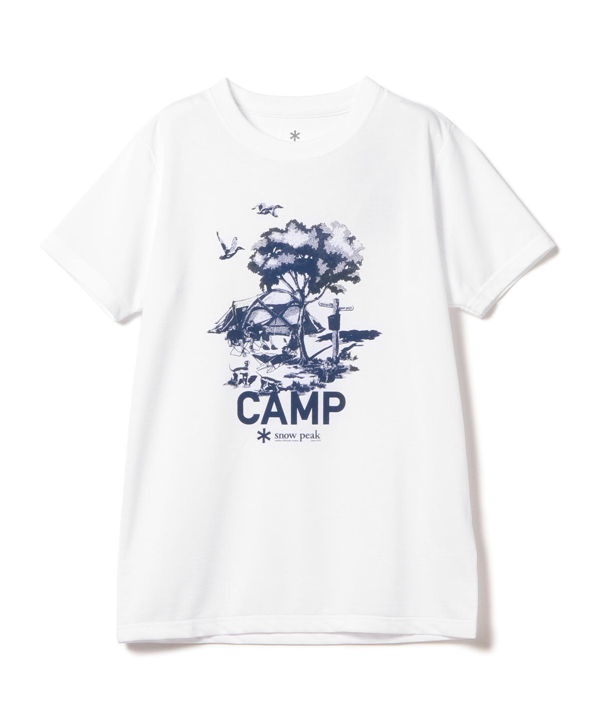 Printed T-Shirt Camp Field