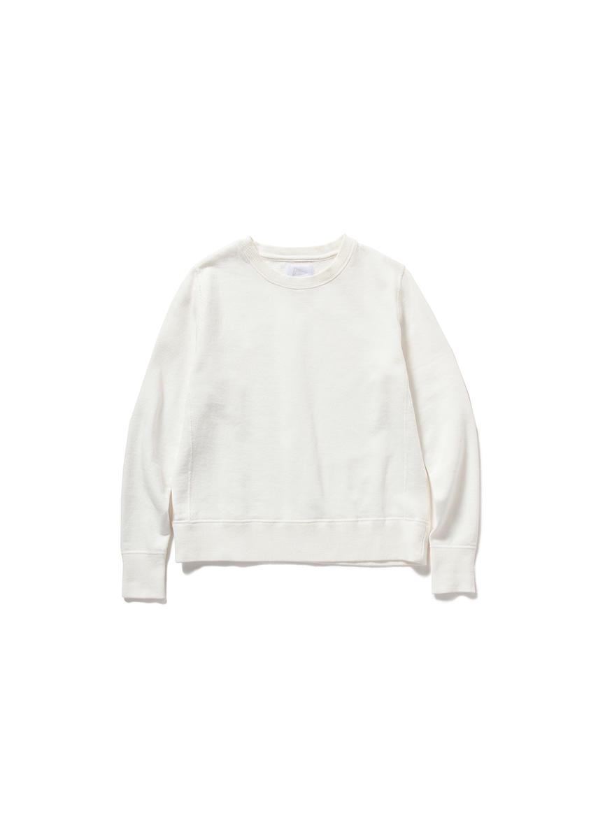 PILGRIM W's Crew Neck Sweat (WHITE)