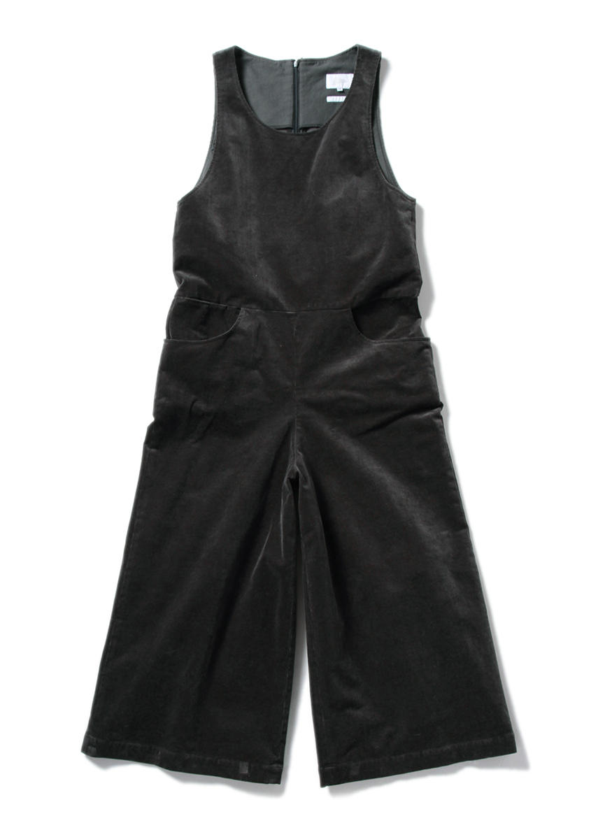 AGGIE Cord Jumpsuit (GREY)